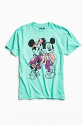 Fila Disney X Mickey Minnie Mouse Squad Tee Turquoise
