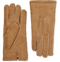 Dents York Shearling Gloves Tan