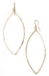 Ija Oblong Hoop Earrings 14K Gold Fill