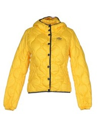 Franklin And Marshall Jackets Yellow
