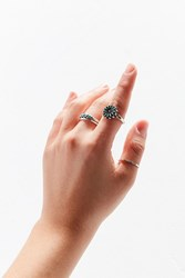 Urban Outfitters Southwestern Ring Set Silver