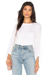 Velvet By Graham And Spencer Jupiter Top White