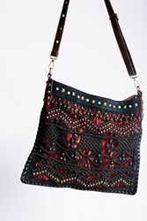 Free People Womens Florence Macrame Tote