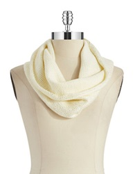 William Rast Knit Infinity Scarf Ivory