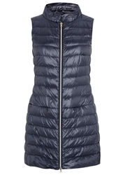 Herno Navy Quilted Shell Gilet