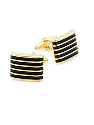 Hickey Freeman Classic Square Cufflinks Multi