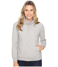United By Blue Highly Cowl Neck Pullover Grey Women's Clothing Gray