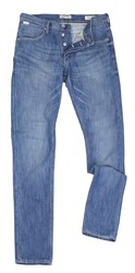 Blend Of America Low Rise Fit Jeans Blue