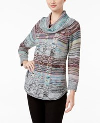 Jpr Marled Cable Knit Sweater Spring Pink