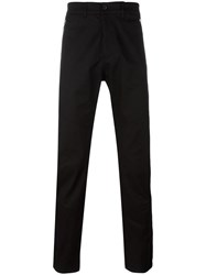 Diesel Black Gold Side Detail Trousers Black