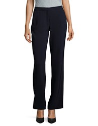 Karl Lagerfeld Straight Leg Dress Pants Navy