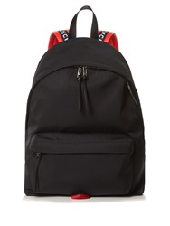 Givenchy Urban Contrast Strap Canvas Backpack Black Multi