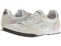 Saucony Bullet Grey Silver Women's Classic Shoes Gray