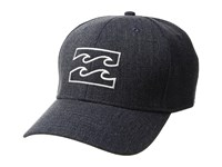 Billabong All Day Stretch Heathers Hat Navy Heather 2 Caps