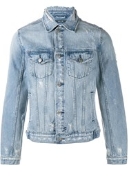 Ksubi Classic Denim Jacket Blue