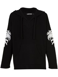 Adaptation Baja Palms Hoodie Black