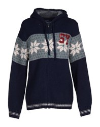 Sweet Years Knitwear Cardigans Men Dark Blue
