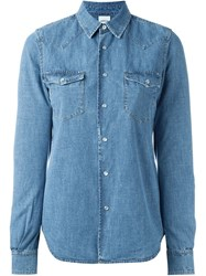 Aspesi Denim Shirt Blue