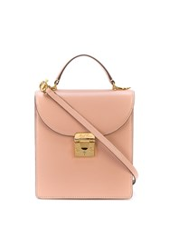Mark Cross Uptown Small Tote Bag Pink