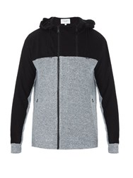 Public School Anorak Zip Through Sweatshirt Grey