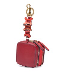 Anya Hindmarch Double Zip Circulus Coin Purse Red