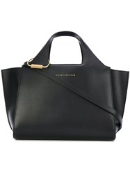 Victoria Beckham Tote Bag Women Calf Leather Polyamide Polyurethane One Size Black