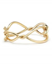 David Yurman Continuance Bold Twisted 18K Yellow Gold Bracelet