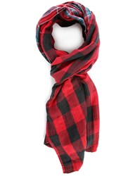 Denim And Supply Ralph Lauren Plaid Double Face Scarf