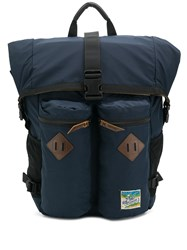 Polo Ralph Lauren Roll Top Hiking Backpack Blue