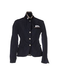 Aquarama Suits And Jackets Blazers Women Dark Blue