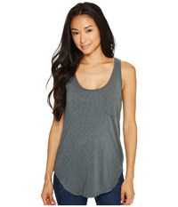 Lamade Boyfriend Tank W Pocket Urban Chic Women's Sleeveless Gray