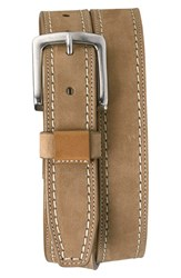 Men's Trask 'Alpine' Nubuck Leather Belt