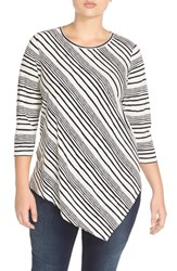 Plus Size Women's Two By Vince Camuto Asymmetrical Hem Top