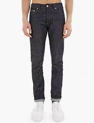 Officine Generale Japanese Selvedge Indigo Jeans