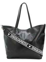 Dsquared2 Logo Tote Bag Black