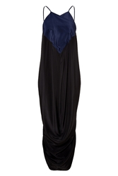 J.W.Anderson Silk Draped Halter Dress