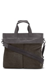 Vince Camuto Men's 'Surbo' Convertible Suede Tote