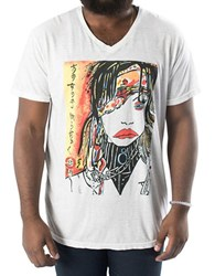 Jack Of All Trades Zane Fix Big City Girl Burnout Tee White