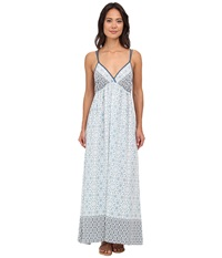 Gabriella Rocha Alysia Mia Dress Blue Dark Sky Women's Dress White