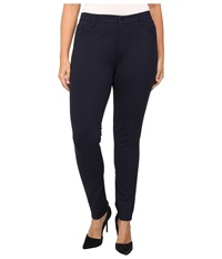 Yummie Tummie Plus Size Tyler Jean Legging Dark Sapphire Women's Casual Pants Blue