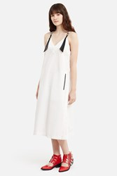 Toga Pulla Taffeta Dress White