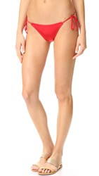 Agent Provocateur Robbie Bikini Bottoms Red