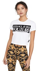 Versace Jeans Couture Logo Tee White