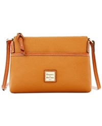 Dooney And Bourke Ginger Pouchette Created For Macy's Caramel