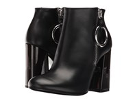 Mcq By Alexander Mcqueen Pembury Harness Boot Black Smooth Calf Women's Zip Boots