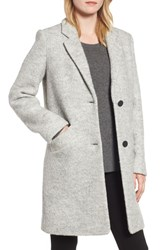 Marc New York Pressed Boucle Coat Ivory