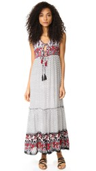 Raga Dreamweaver Maxi Dress Black White