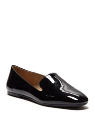 Enzo Angiolini Leonie Patent Smoking Loafer Black