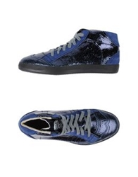 Primabase High Tops And Trainers Dark Blue