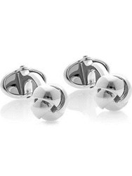 Links Of London Sterling Silver Knot Tbar Cufflinks One Colour